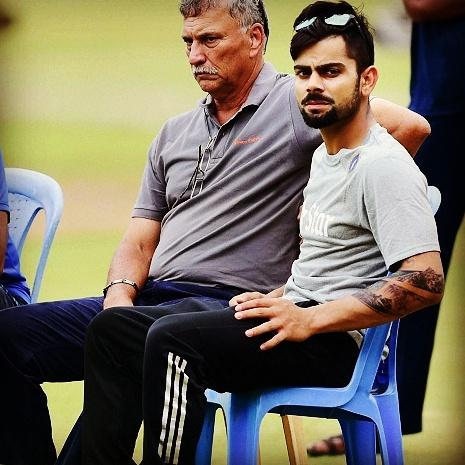 Virat Kohli Addicts On Twitter Exclusive Pic A Clearer View Of