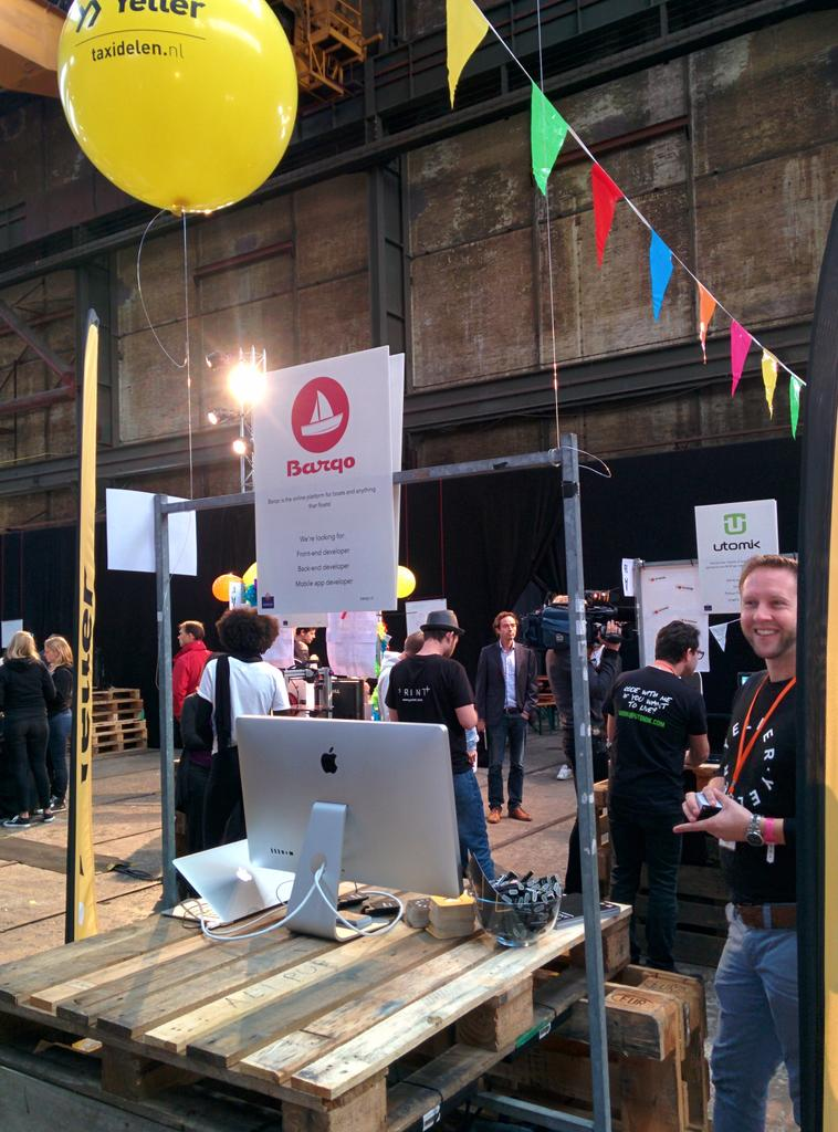 Ready for a day of sharing with @Barqoclub at @festivaluprise! #jointheUPRISE #nltech #TaxiDelen http://t.co/BRlfASN3Nq