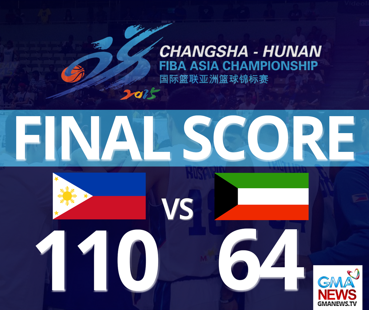 """Gma Latest News Update: GMA News On Twitter: """"JUST IN: Gilas Pilipinas Wins Over"""