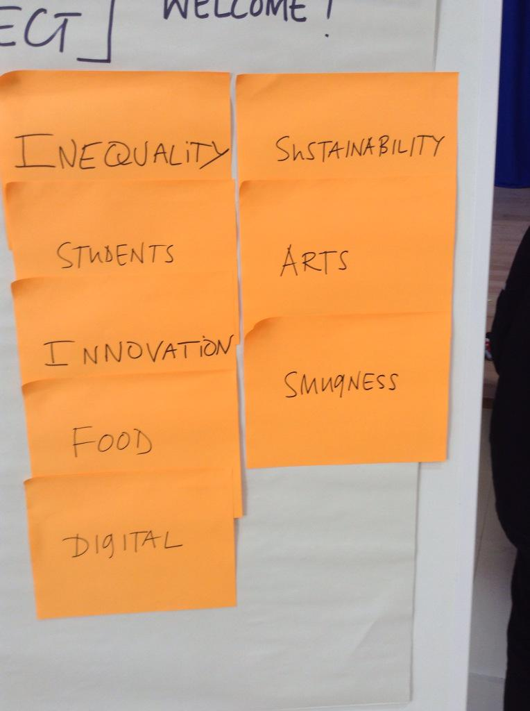 Opportunities for Brighton - what can we do with these clusters in the next 5 years? #connectBTN http://t.co/PRCJAVMIbM
