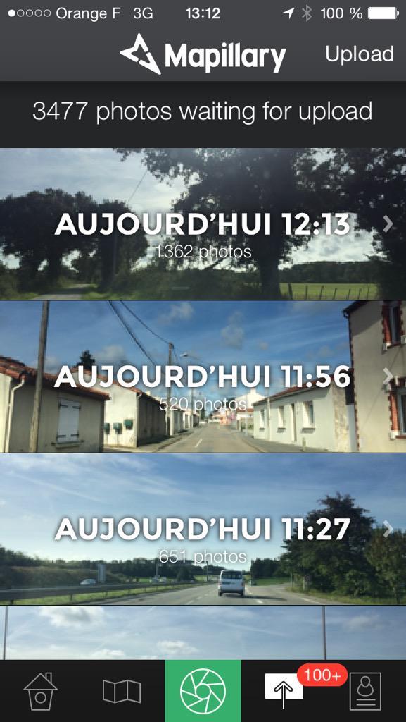 Déjà près de 3500 photos de Chéméré pour @OperationLibre a uploader sur @mapillary http://t.co/F9zwwcZ2aJ