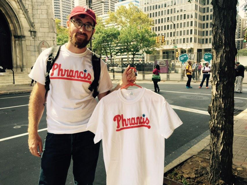 Phrancis. #PopeInPhilly #PopeinPhillies http://t.co/y05yTuvAoc
