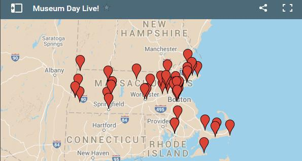 60 MA museums are offering FREE admission tomorrow, Museum Day Live. via @BostonMagazine http://t.co/FLwFZtpdaP http://t.co/EWO3wFekWO
