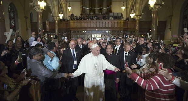 Il Papa al Palazzo di Vetro dell'Onu: «Grazie per i vostri sforzi per la pace».
