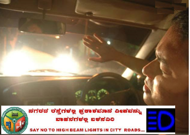 "BTP on Twitter: ""Do not use high beam light within city ..."