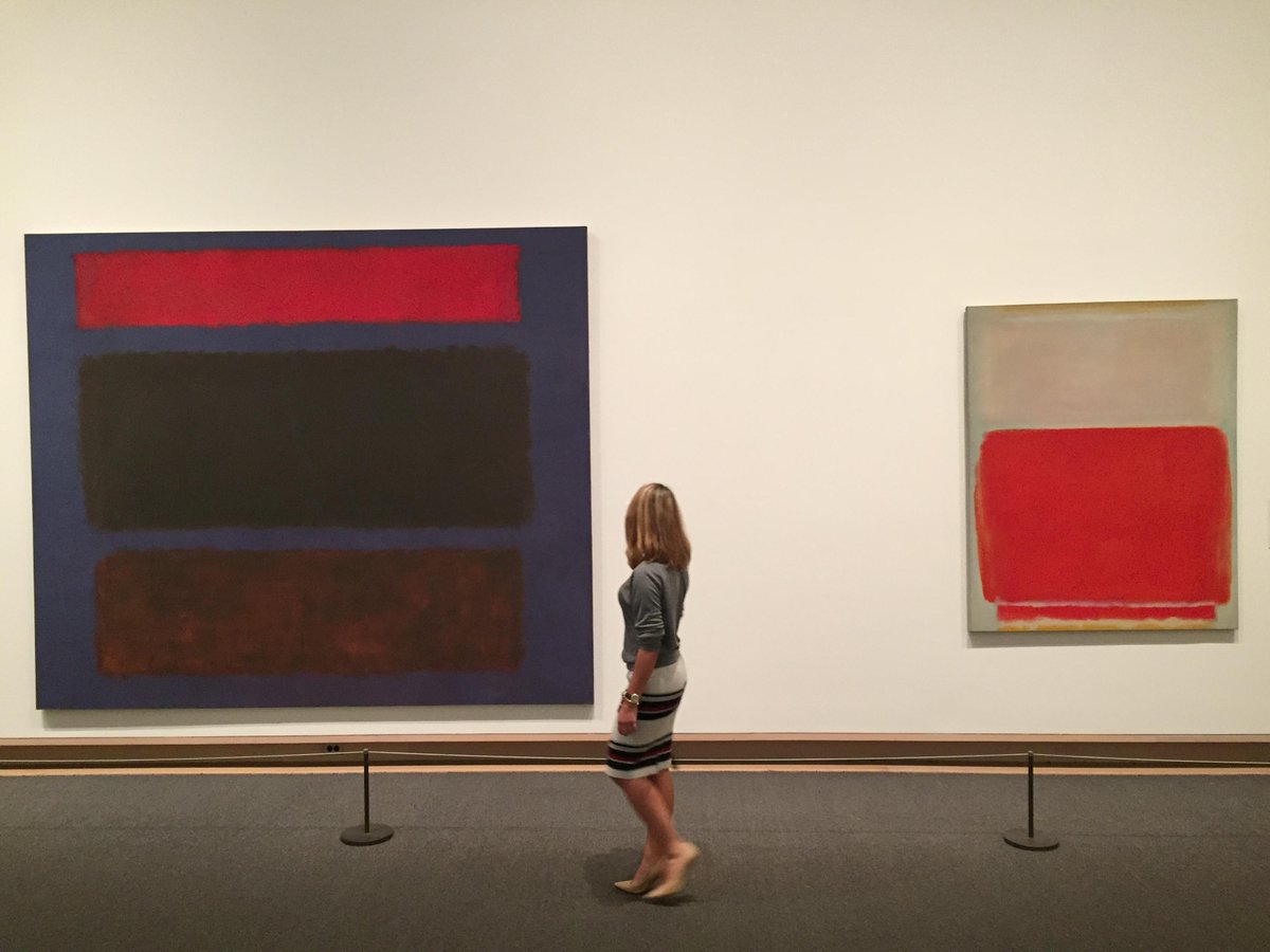 """Silence is so accurate."" —Mark Rothko, born on this day in 1903. http://met.org/1Wjh0gO"
