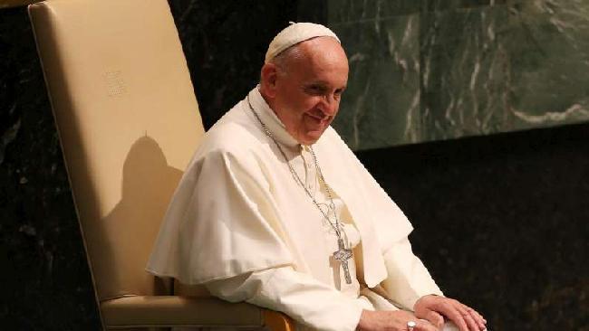 Discorso di Papa Francesco all'ONU del 25 settembre 2015.