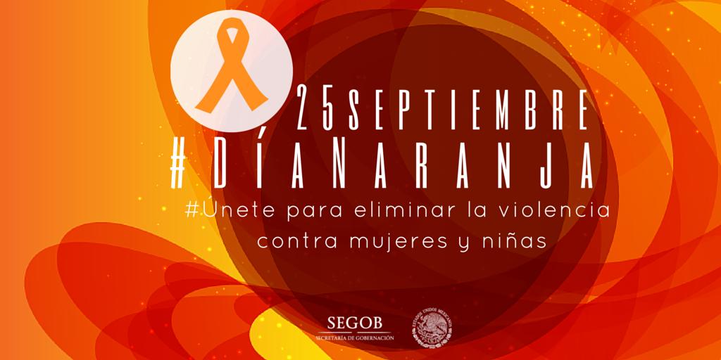 Hoy es #DíaNaranja. #Únete para prevenir y poner fin a la violencia contra las mujeres y niñas http://t.co/mzWbtzak5X