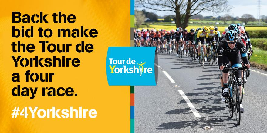 Definitely! @letouryorkshire Back the bid to make @letouryorkshire a four day race http://t.co/8DGjsELszC #4Yorkshire http://t.co/bCduLv2ayE