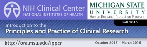 NIH IPPCR banner