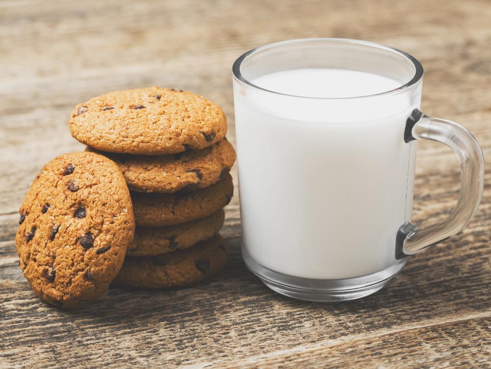 завораживает природная рисунок печенья с молоком какой