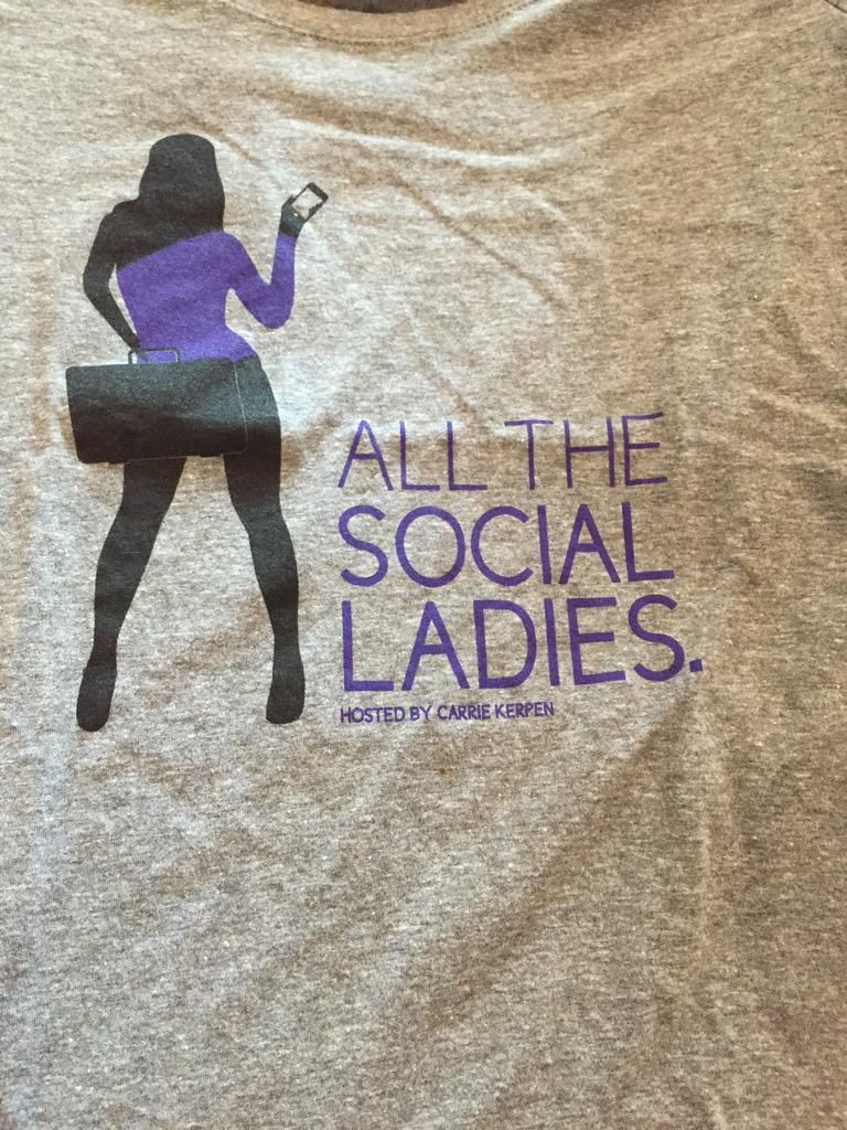 I have one extra #allthesocialladies t-shirt up for grabs! RT this for the chance to enter and win
