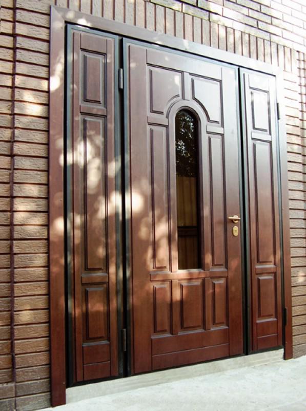 входные уличные металлические двери на заказ куровское