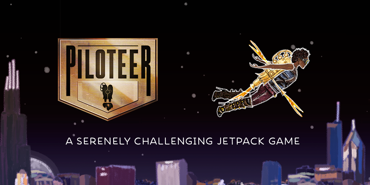 Piloteer, my ridiculous and whimsical jetpack game, just landed on Steam! 10% off for launch. http://t.co/CeNVa1i1Dg http://t.co/oAisLujDCl