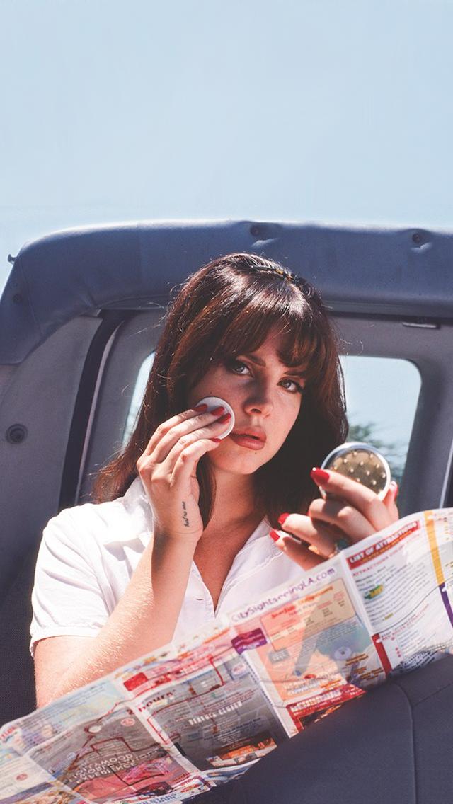 Lana Del Rey Edits On Twitter Honeymoon Wallpaper