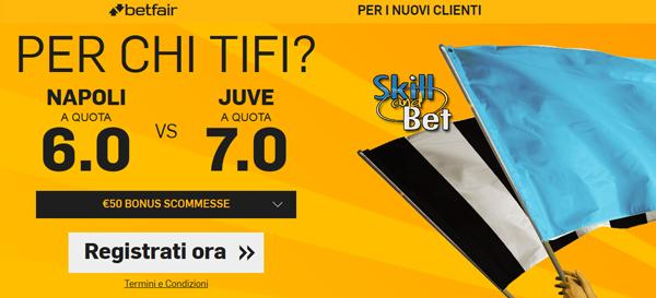 quote maggiorate betfair.it