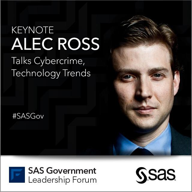SAS Government Leadership Forum featuring @AlecJRoss live from DC October 6th http://t.co/uH6T4ug8CV #SASGov http://t.co/ugJ4c3jxtK