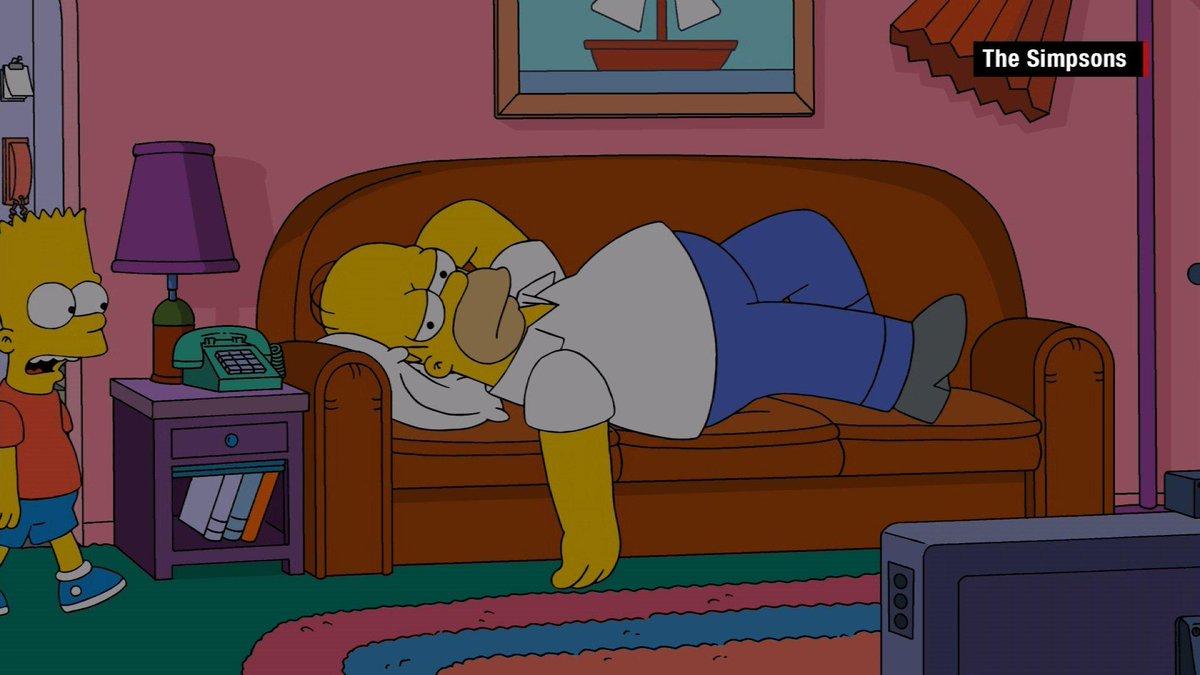 It S Not Just The Duff Making Homer Simpson Sleepy He Has