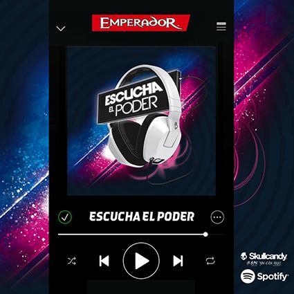 "¡Búscanos en Spotify como ""Emperador_mx"" y disfruta del poder con la playlist #EscuchaElPoder!http://t.co/Erw0cTD7GZ http://t.co/xrQVQD98Gn"