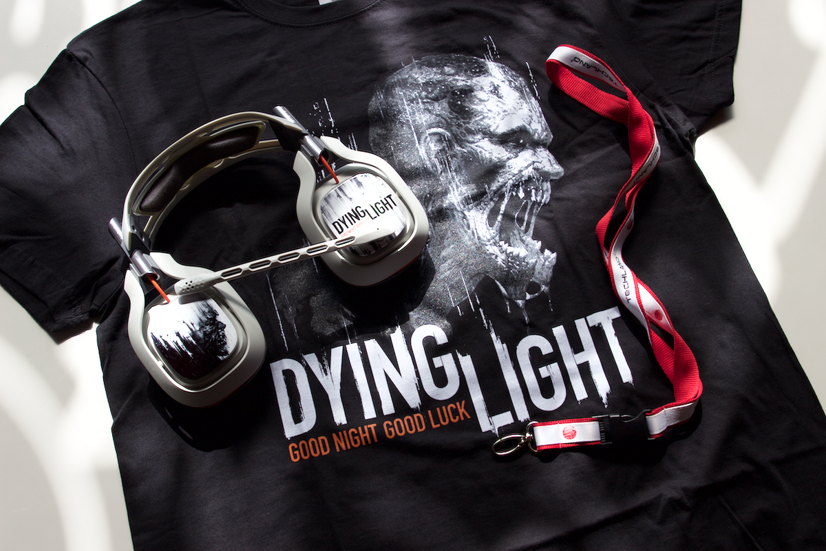 Free Stuff Friday! RT & follow @DyingLightGame to win DLC codes, #DyingLight A40s & shirts! http://t.co/6KpdAYGTIU