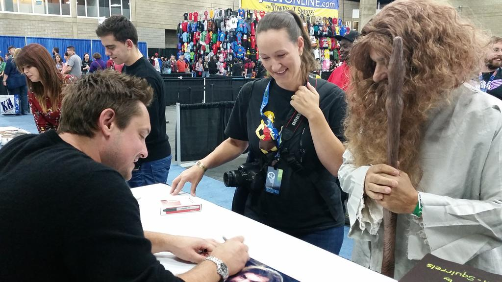 And @willfriedle meets his first Plays With Squirrels cosplayer, @EdmontonExpo. #MyJobHereIsDone http://t.co/1Lkt6HpuQe