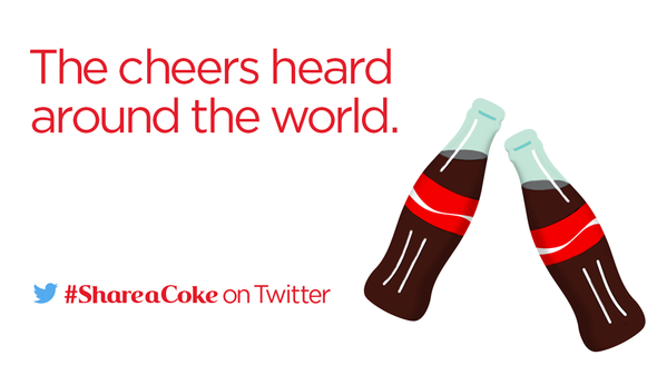 "It's official! Here's @CocaCola's new #ShareaCoke record for the Largest Twitter ""Cheers!"": https://t.co/fs5DacLuyc http://t.co/rrq6p9clvs"