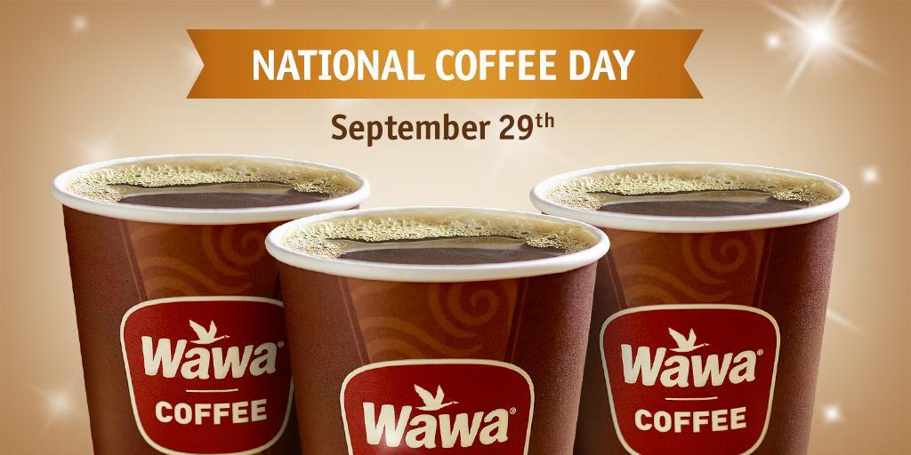 wawa free coffee national coffee day