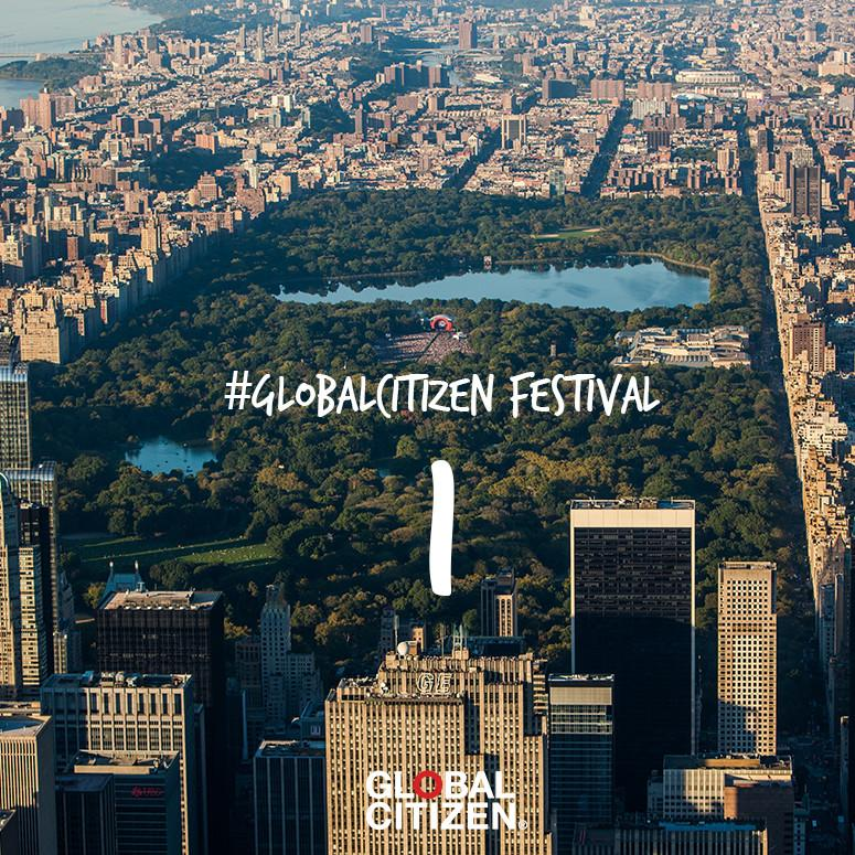 One day until the #GlobalCitizen Festival! Make sure to tune into the livestream here ---> http://t.co/WizyuKSXfj http://t.co/DKQxUsfYPA