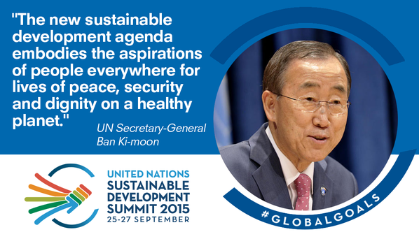 New #GlobalGoals hailed as a universal, integrated & transformative vision for a better world http://t.co/PtzdnKkHIo http://t.co/fthC0zBjlb