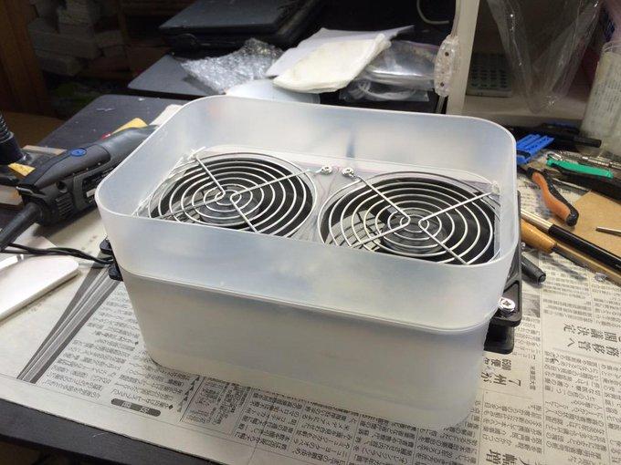 【集塵機】PCファンと100均の材料で集塵機を自作してみた【健康が大事】