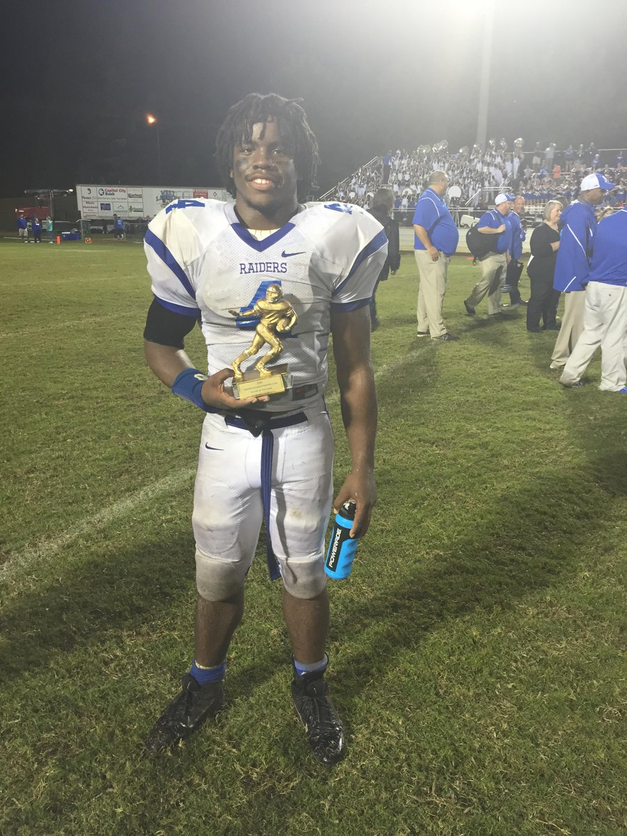 Darius Bradford – Class of 2017 RB – West Laurens HS, Dublin, GA (Photo courtesy of Twitter)