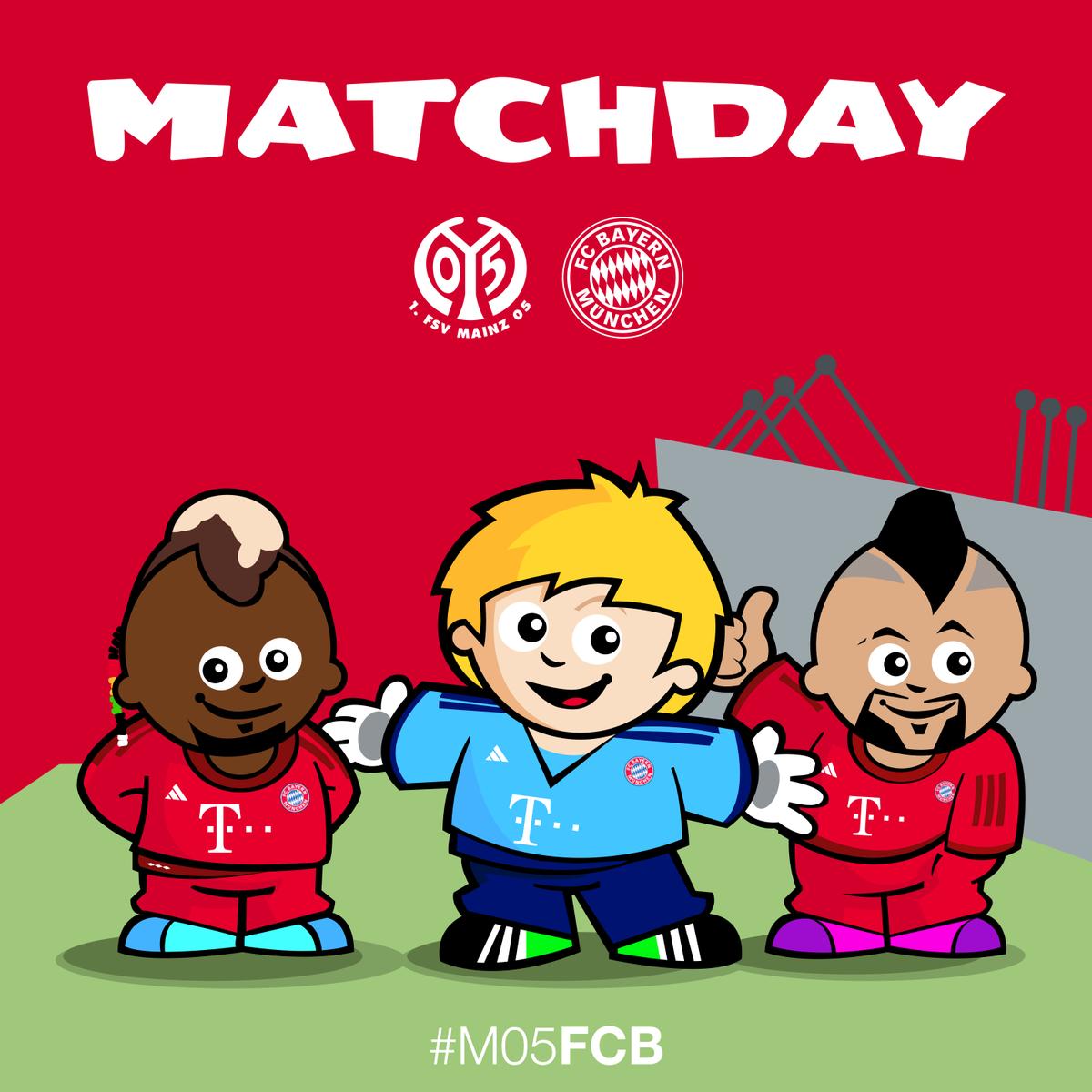 Fc Bayern Munchen On Twitter Guten Mooooorgen Heute Geht S Nach Mainz Daumen Drucken Ab 15 30 Uhr M05fcb Packmas Http T Co P3y3ayzzun