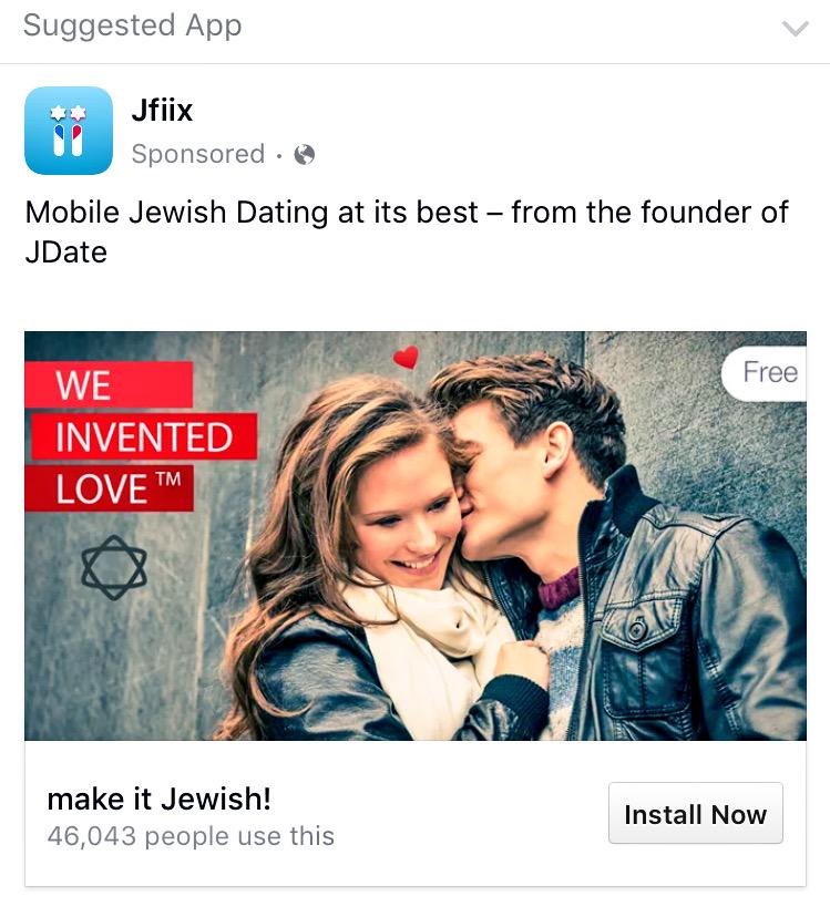 Dating advertising on facebook