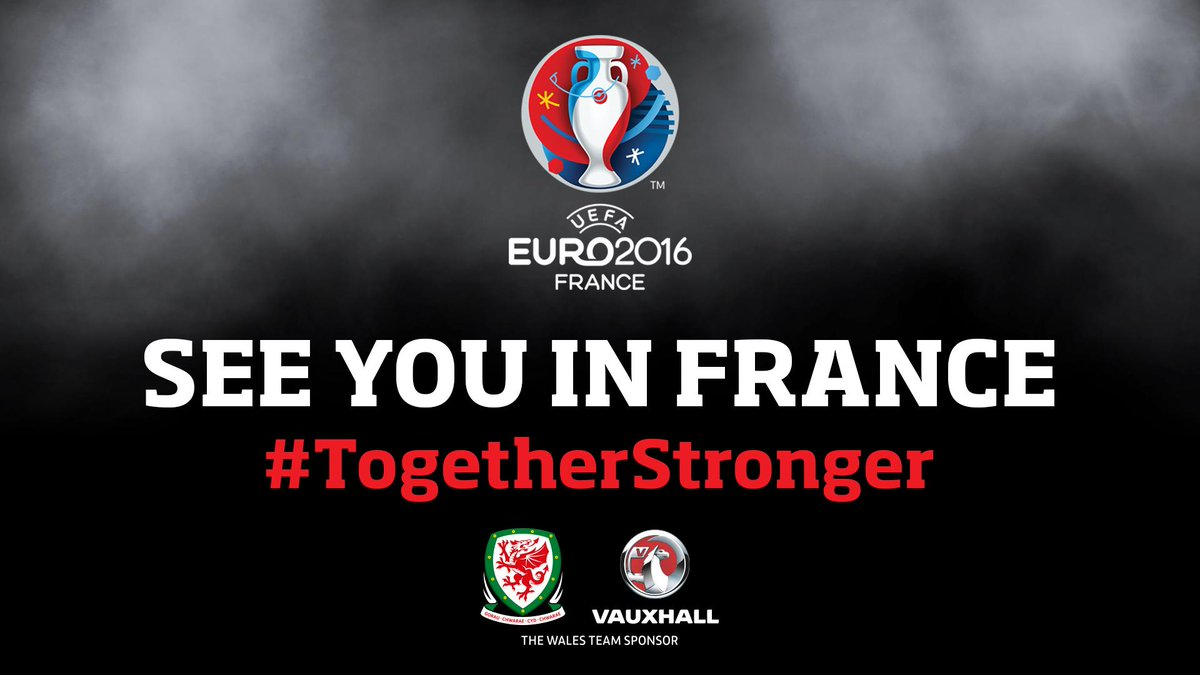 THE WELSH ARE COMING! #TogetherStonger http://t.co/jqpFKmqWJd