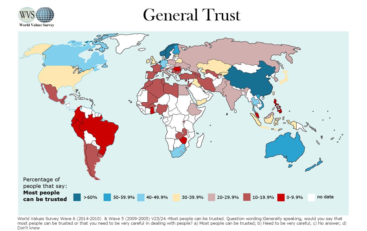 World Values Survey on Twitter: