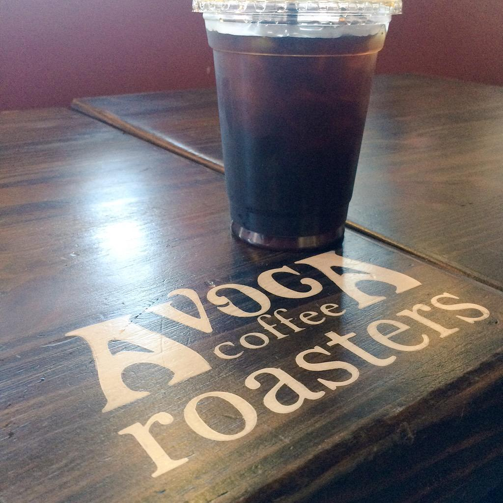 "Major thanks to @AVOCAcoffee for supplying our ""potato"" sacks for Adult Field Day! Best cold brew in Ft. Worth! http://t.co/j5OV0O6h3h"