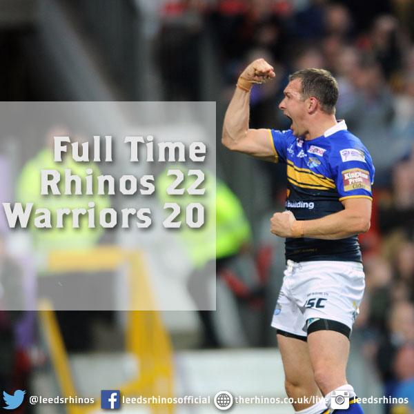 Leeds Rhinos have secured the treble with victory over Wigan Warriors at Old Trafford http://t.co/JvFp1EltxD