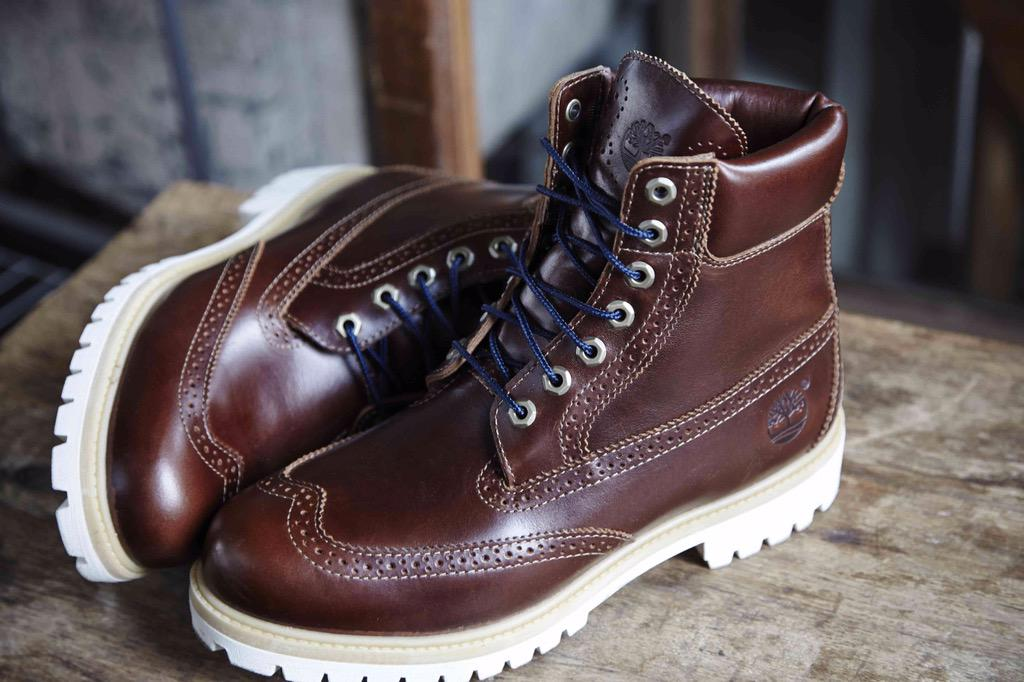 icon 6 waterproof brogue boot