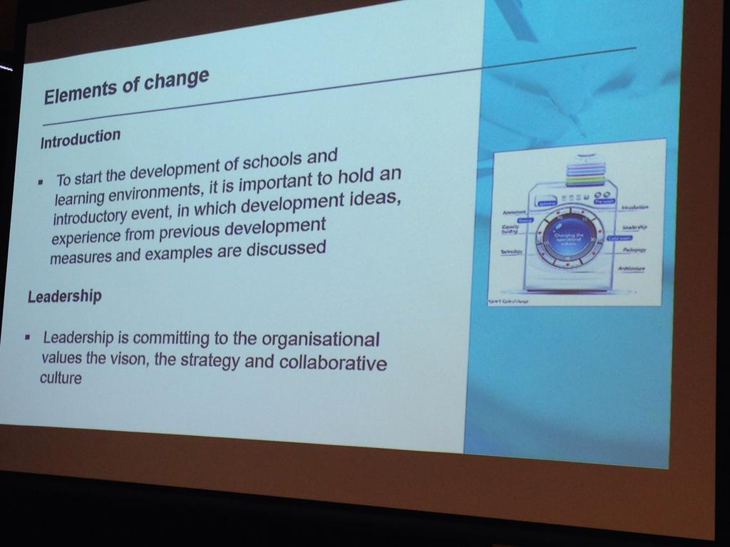 Pedagogical change is central #L4FL15 http://t.co/v1Xr09K2QB