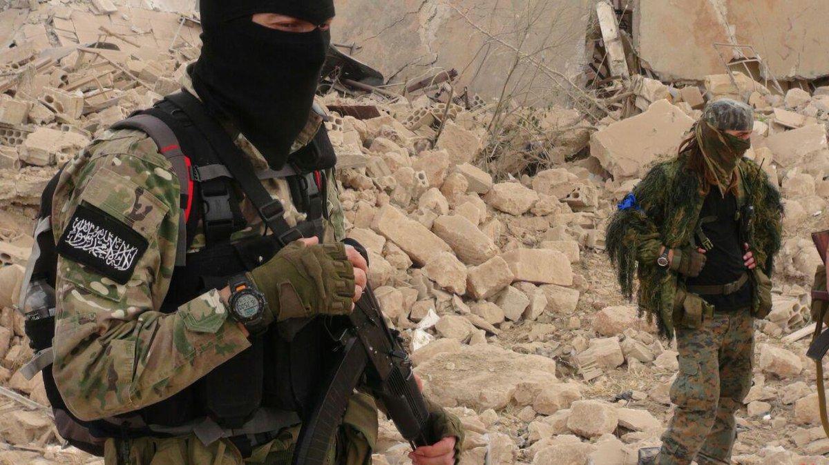 Видео снятые моджахедами в сирии