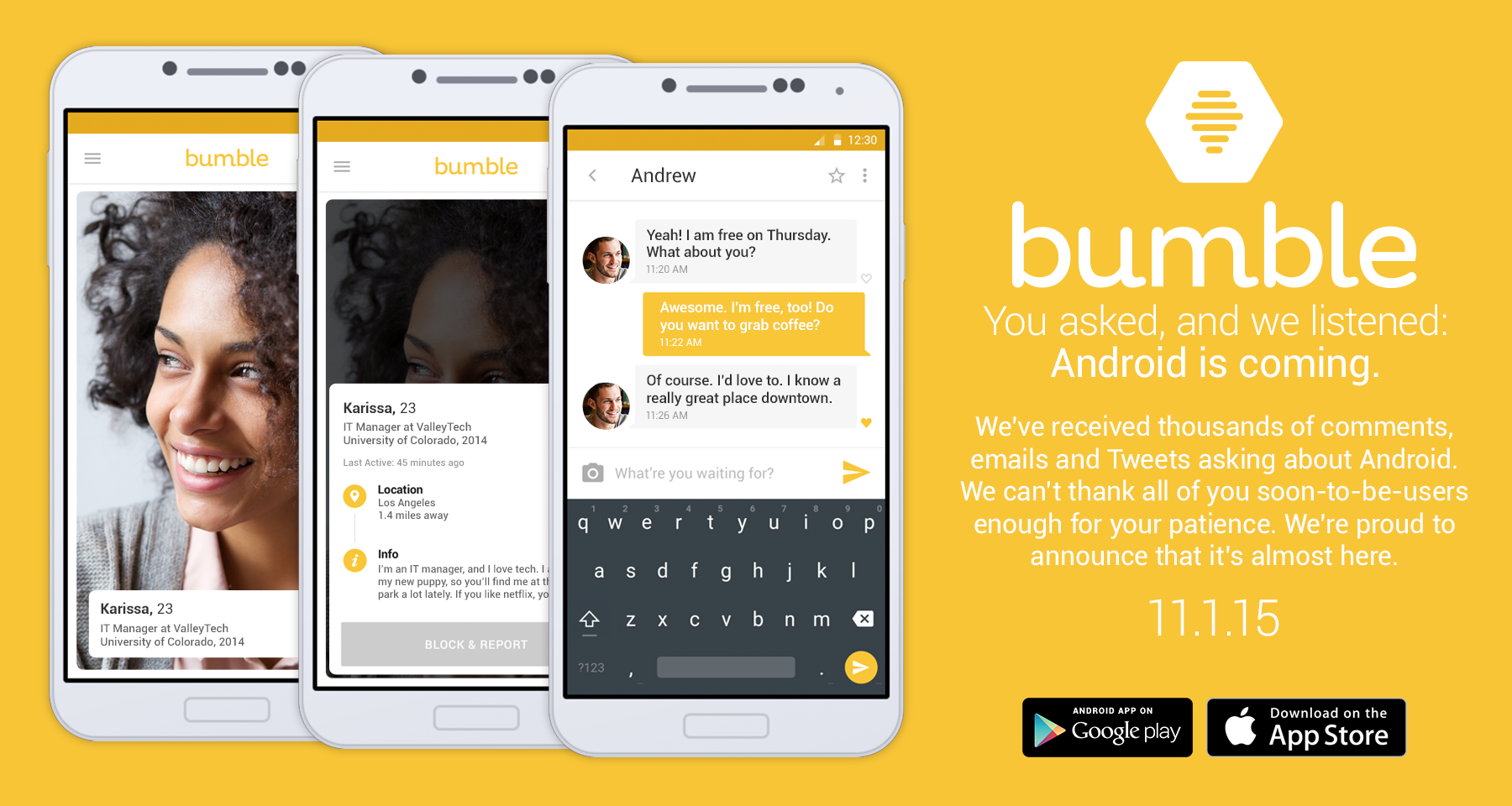 Bumble Review April 2019 - Women empowerment or plain ...