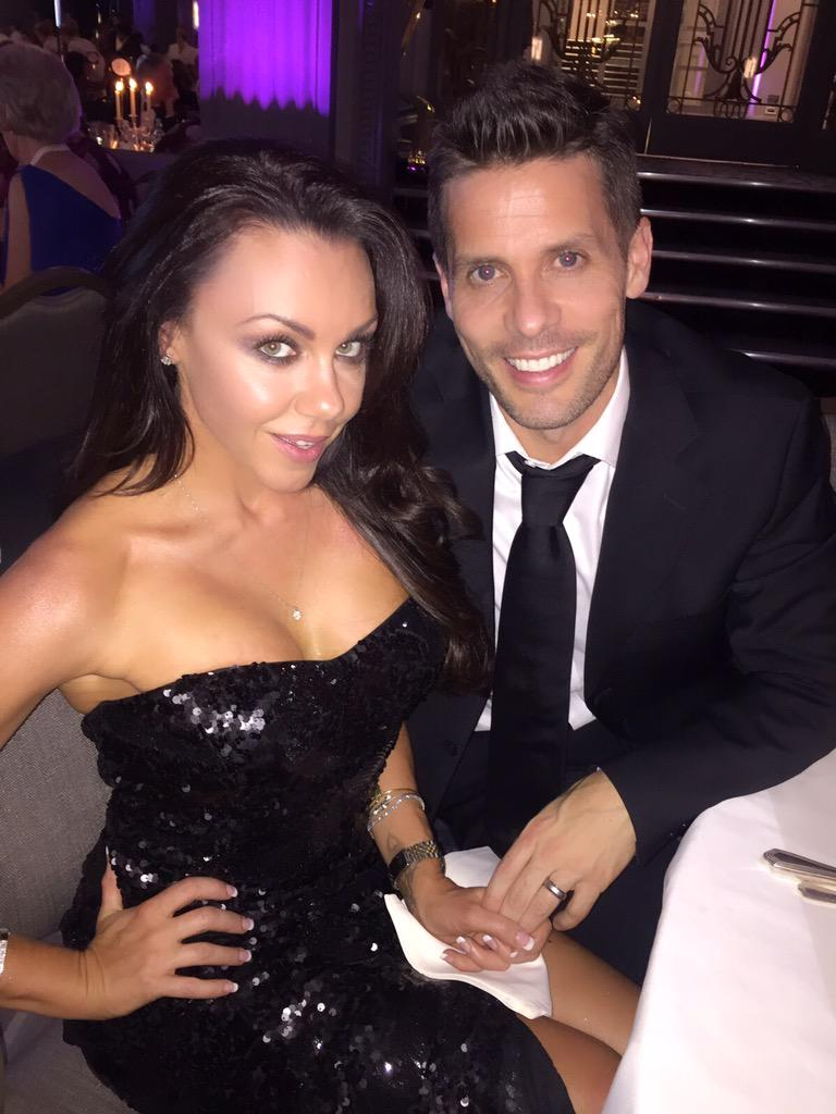 Having a ball at the @HavenHouseCH ball with my very hot husband @hughhanley .. 😍😍😍 http://t.co/pLRIM0Rw30