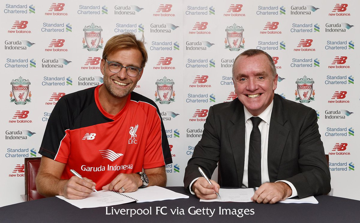It's official – Jürgen Klopp is the new manager of Liverpool Football Club #KloppLFC