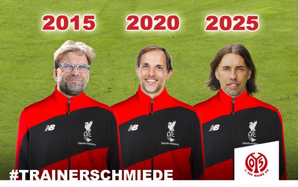 Back to the Reds! #Trainerschmiede #Mainz05 und dann via #Dortmund in die große weite Welt! @bvb @lfc #KloppLFC