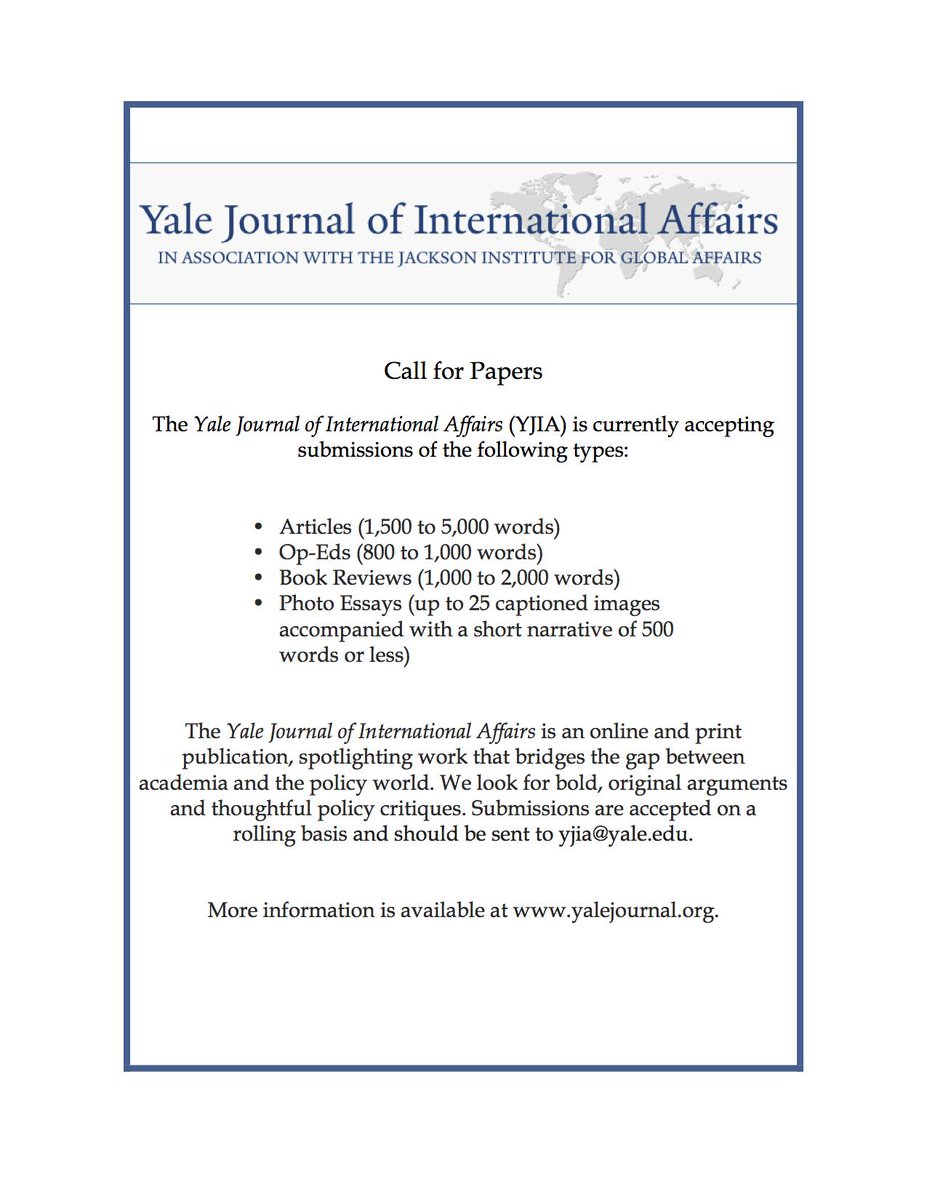 Yale Journal on Twitter: