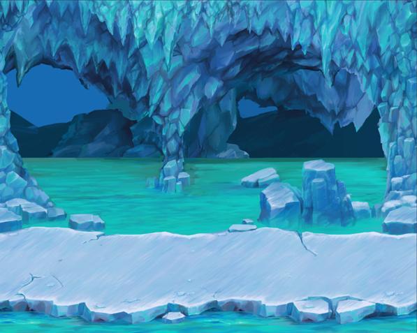 Ludicarts Graphics On Twitter Ice Cave Background Now On Gamdevmarket Https T Co Pnmglposm0 Gamedev Indiedev Http T Co Vz1tumuwlz