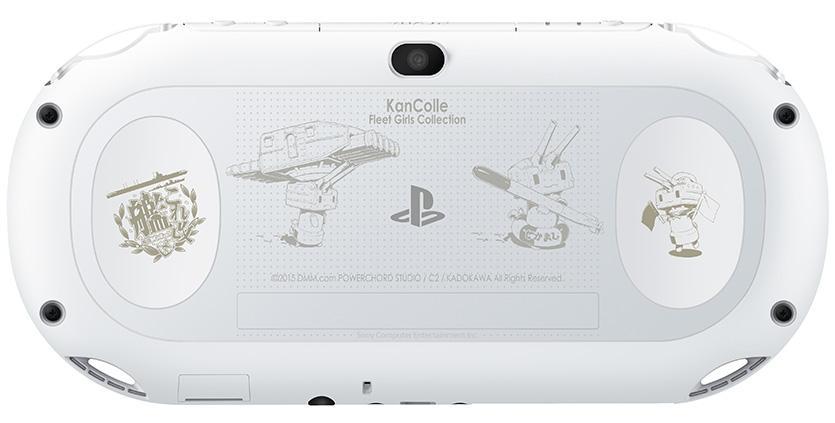 『艦これ改』PS Vita刻印モデルが2016年2月18日に発売決定!!10月8日24時より予約受付スタート! http//playstation.eng.mg/aa477 PSVita