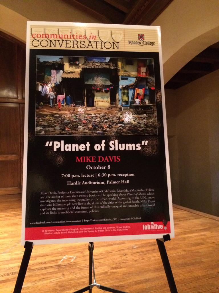 "Thumbnail for Mike Davis ""Planet of Slums"""