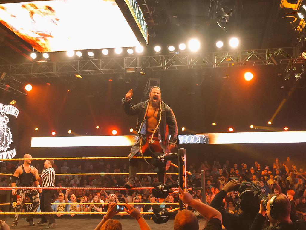 James Storm joins WWE?  CQ1TAqyWEAABi2X