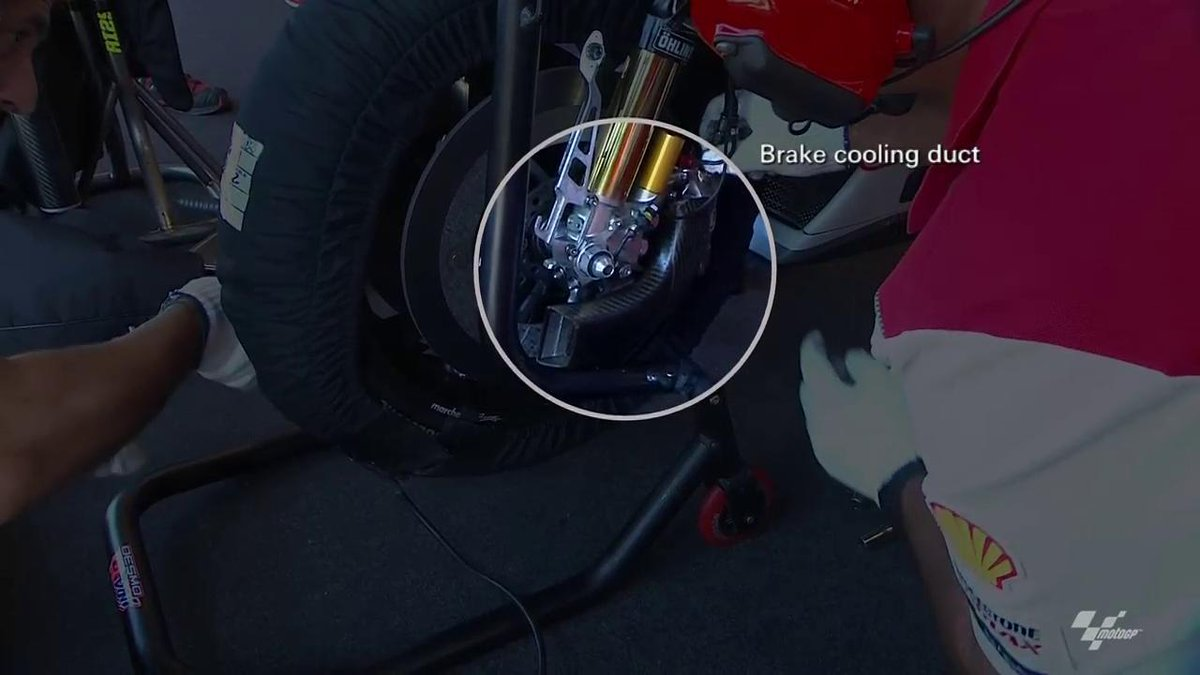 Motogp On Twitter Heavy Braking At The Japanesegp Pushes Bikes To Their Limit Ducatimotor Have Fitted Cooling Ducts To Help Motogp Http T Co X6sccm1q3f